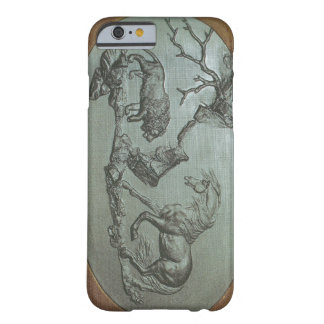 Ett lejont, en häst, ett fodral 1780 för barely there iPhone 6 skal