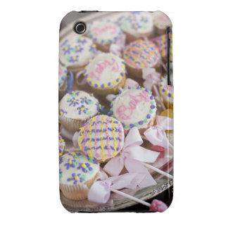 Ett magasin av bebispladdermuffins på en Case-Mate iPhone 3 case