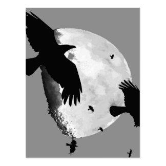 Ett mord av kråkor och månen vykort