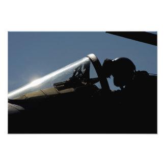 Ett pilot- förbereder sig för take-av fotografi
