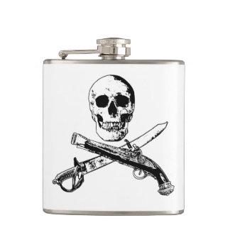 Ett piratliv skullflask_1