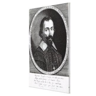 Ett porträtt av Claude Maugis, rådgivare till Mari Canvastryck