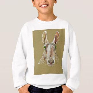 Ett porträtt av ett får t shirt