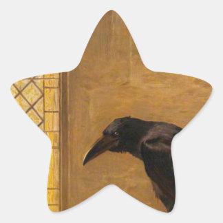 """Ett Sanktt, från """"alikan av Rheims Stjärnformat Klistermärke"""