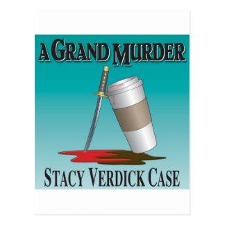 Ett storslaget mord vykort