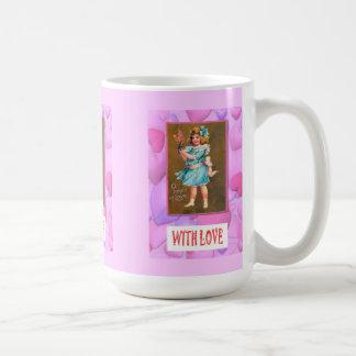 Ett tecken av kärlek kaffemugg