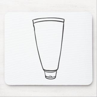 Ett toothpasterör musmattor