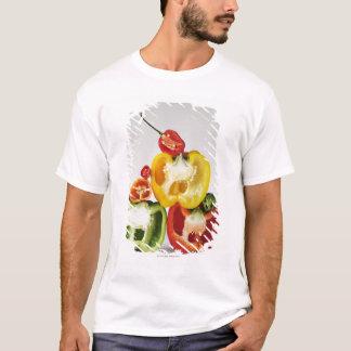 Ett tvärsnitt av peppar tee shirt