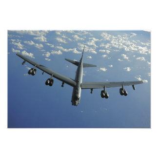 Ett US-flygvapen B-52 Stratofortress Fotografiska Tryck