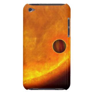 Ettstorleksanpassat planet iPod Case-Mate fodral