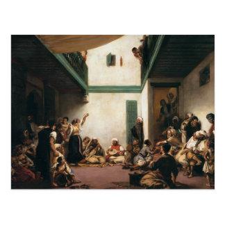 Eugene Delacroix- ett judiskt bröllop i Marocko Vykort