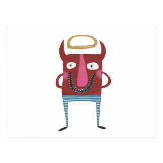 Eugene lite djävulen vykort