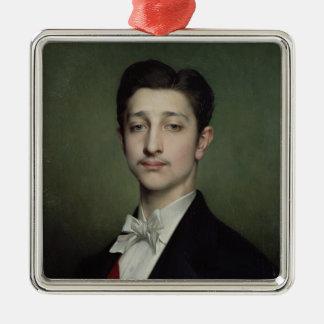 Eugene-Louis-Napoleon Bonaparte 1874 Julgransprydnad Metall