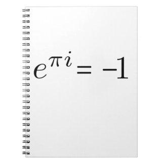 Euler formel! anteckningsbok