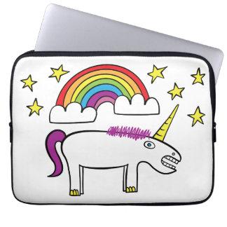 """Eunice unicornen - 13"""" Neoprenelaptop sleeve"""