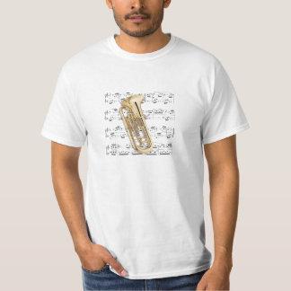 Euphonium för skjorta (tända) - - välj din färg tee shirts