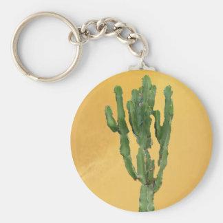 Euphorbia'kaktus Rund Nyckelring