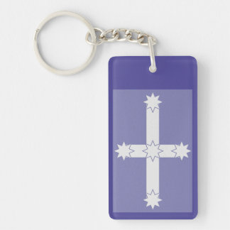 Eureka flagga nyckelring