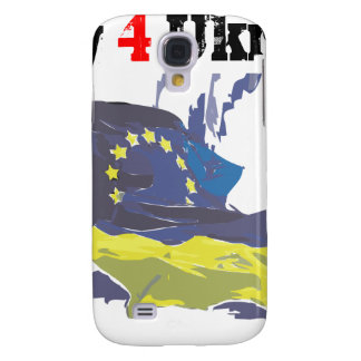 Euromaidan = ber 4 Ukraina = frihet Galaxy S4 Fodral