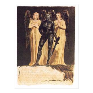 Europa. En Prophecy. William Blake Vykort