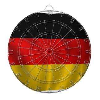 Europa för symbol för tysk flaggaflagga tysk darttavla