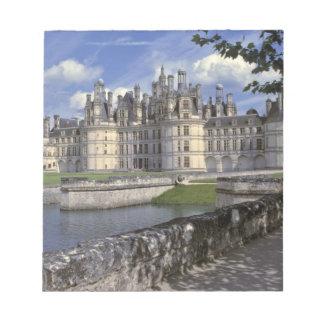 Europa frankrike, Chambord. Imponera Chateau Anteckningsblock