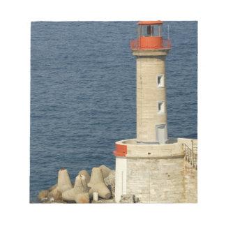 Europa frankrike, Corsica, Bastia.  Port Anteckningsblock