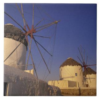 Europa Grekland, Cyclades öar, Mykonos, 2 Kakelplatta