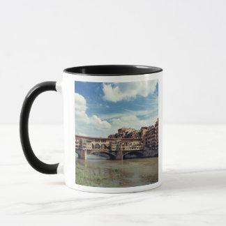 Europa italien, Florence. Ponten Vecchio Mugg