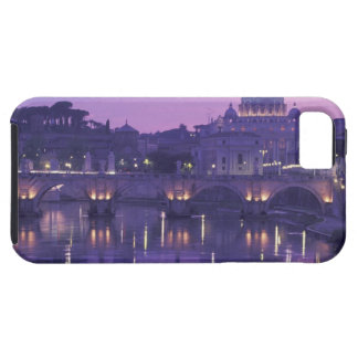 Europa italien, Rome. St Peter och Ponte Sant iPhone 5 Fodral