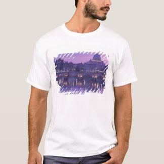 Europa italien, Rome. St Peter och Ponte Sant Tshirts