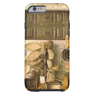 Europa italien, Tuscany, Montalcino. Basket Tough iPhone 6 Fodral
