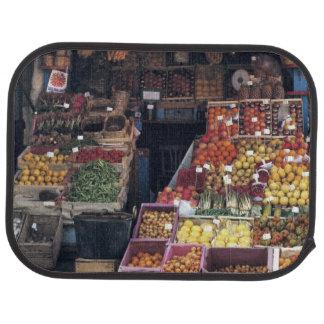 Europa italien, Venedig område. Färgrika frukter Bilmatta