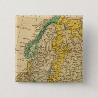 Europa karta vid Worcester Standard Kanpp Fyrkantig 5.1 Cm