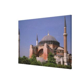 Europa mellan östern, Turkiet, Istanbul. Aya Canvastryck