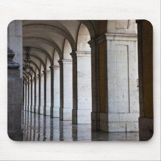 Europa Portugal, Lisbon. Kolonner av gallerit Musmatta