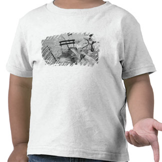 Europa Schweitz Lucerne Utomhus- cafebord Tee Shirt