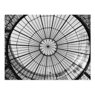 Europa Schweitz, Zurich. Glass kupol av Vykort