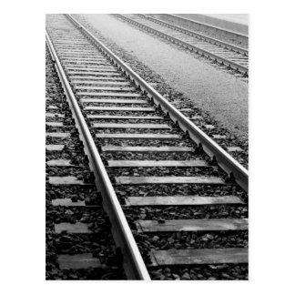 Europa Schweitz, Zurich. Tåg spårar Vykort