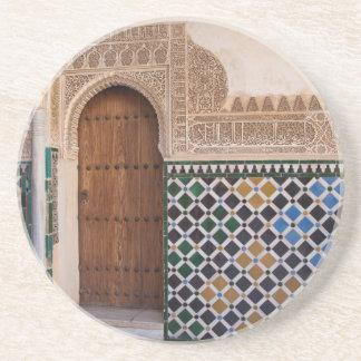 Europa Spanien, Andalusia, Granada, Alhambra Underlägg Sandsten