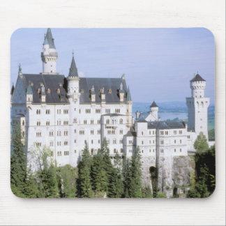 Europa Tyskland, Neuschwanstein slott som byggas Musmatta