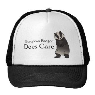 Europébäverskinnet att bry sig hatten keps