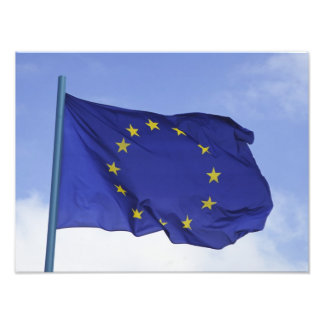 Européflagga RF) Konstfoto