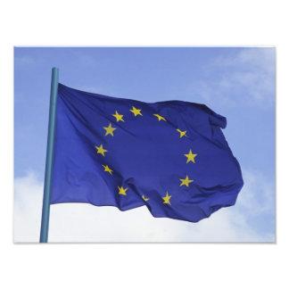 Européflagga RF) Fototryck