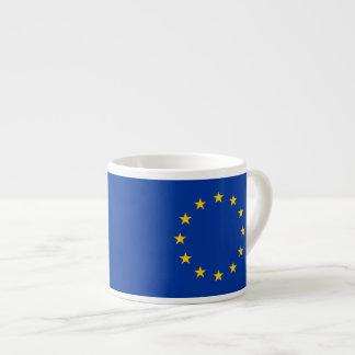 Europeiska union - EGflagga Espressomugg