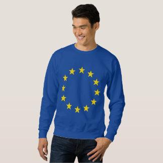 Europeiska unionEGflagga Lång Ärmad Tröja