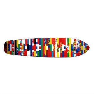 Europén sjunker skateboarden mini skateboard bräda 18,7 cm