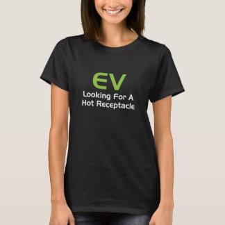 EV som söker efter det A hoade uttaget T Shirt