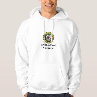 Evangelikal katolsk svettskjorta munkjacka