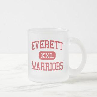 Everett - krigare - pensionär - Everett Frostad Glasmugg